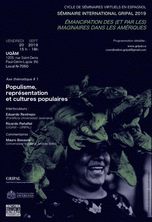Séminaire #1: «Populisme, représentation et cultures populaires»