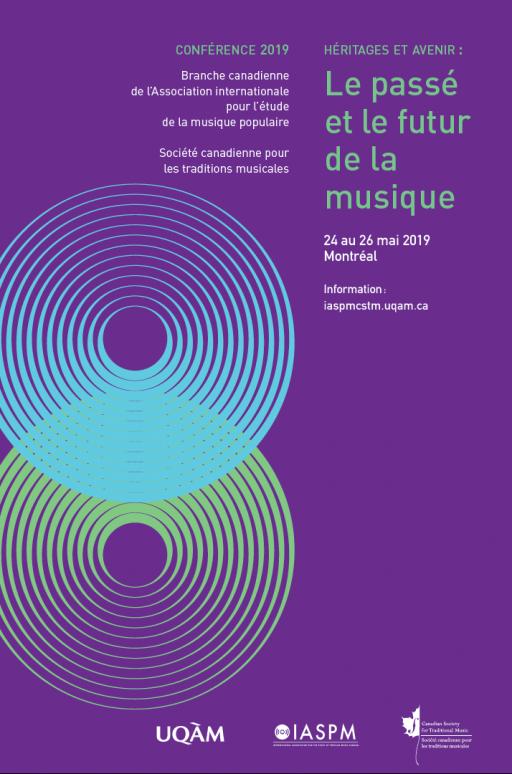 Conférence IASPM 2019: «Héritages et avenir : Le passé et le futur de la musique populaire»