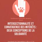 Intersectionnalité et convergence des intérêts : deux conceptions de la solidarité