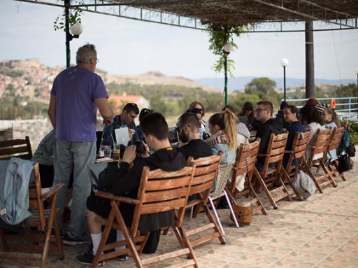 Rencontre d'information pour l'école d'été de Molyvos