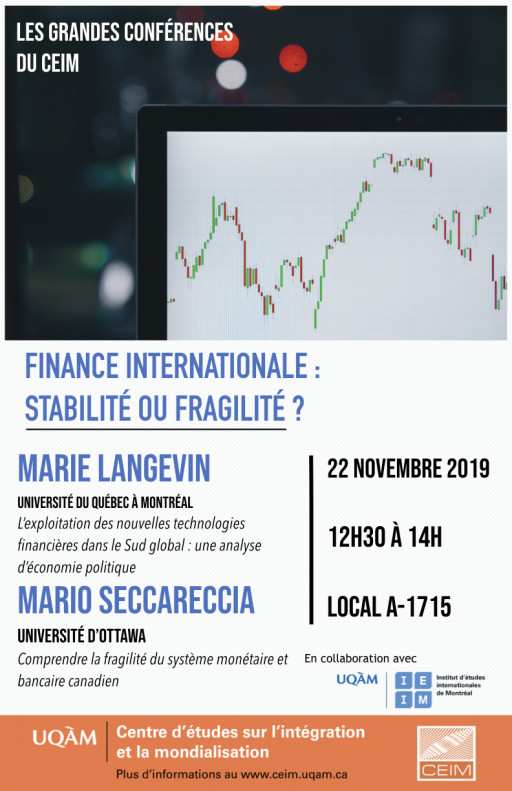 Finance internationale: Stabilité ou fragilité?