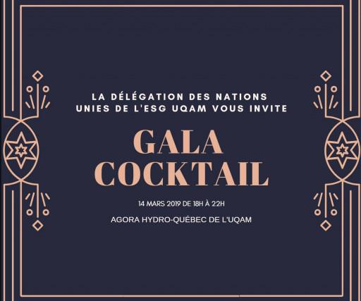 Gala Délégation des Nations Unies de l'ESG UQAM