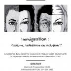 Café-rencontre : Immigration