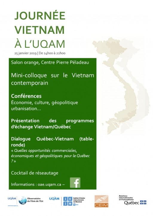Journée Vietnam à l'UQAM