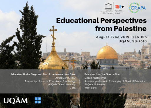 Educational Perspectives from Palestine