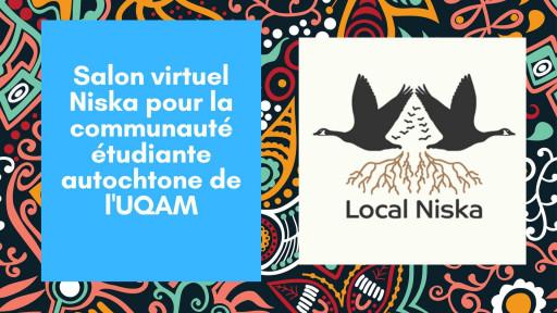 Salon virtuel Niska pour les étudiants autochtones