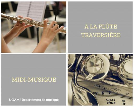 Midi-musique à la flûte traversière