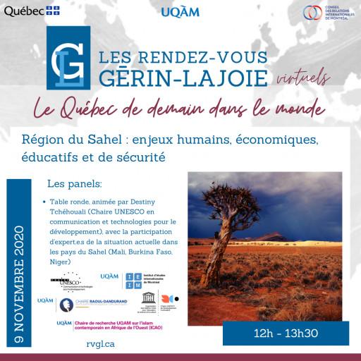Région du Sahel : enjeux humains, économiques, éducatifs et de sécurité