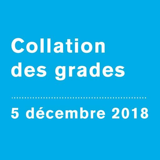 Collation des grades 2018 | Faculté des sciences humaines