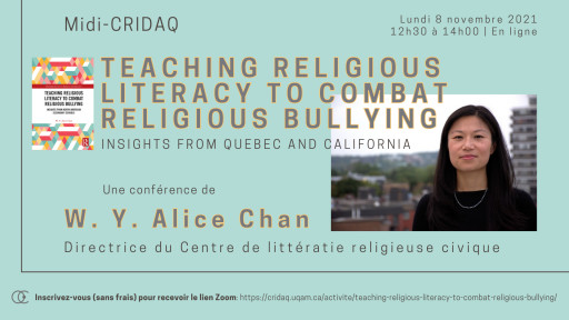 Teaching Religious Literacy to Combat Religious Bullying: Insights from Quebec & California