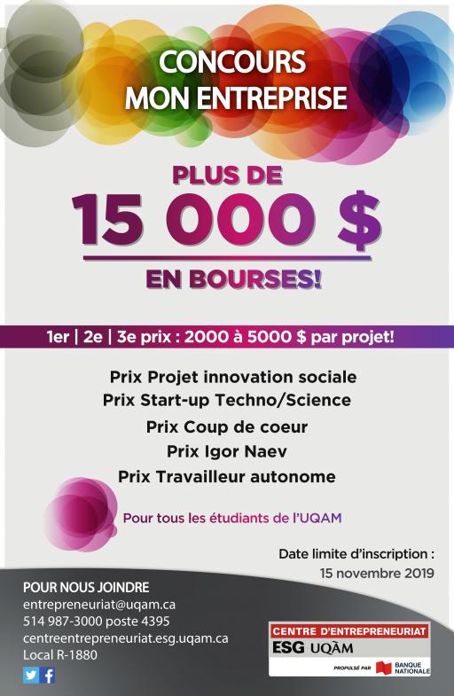 Concours - Mon Entreprise 2020