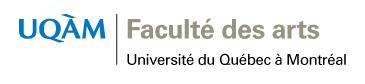 Soutenance de thèse du doctorat en études et pratiques des arts de Madame Alice Jarry-Girard