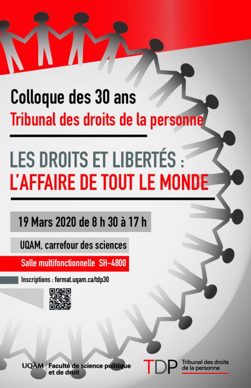 30 ans du Tribunal des droits de la personne