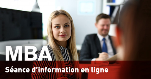 Séance d'information en ligne - MBA