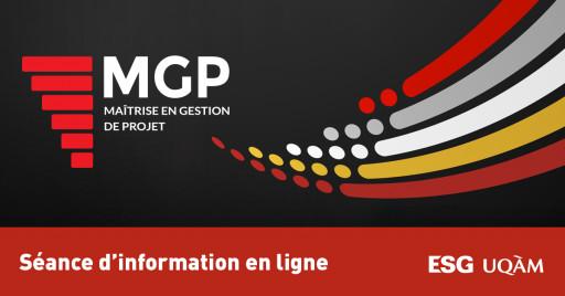 Séance d'information en ligne - Maîtrise en gestion de projet