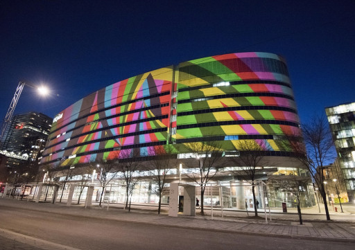 Projection architecturale - UQAM: 50 ans d'audace