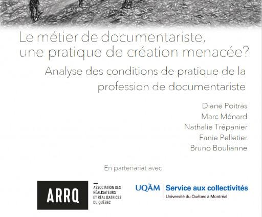 Le métier de documentariste : une pratique de création menacée ?