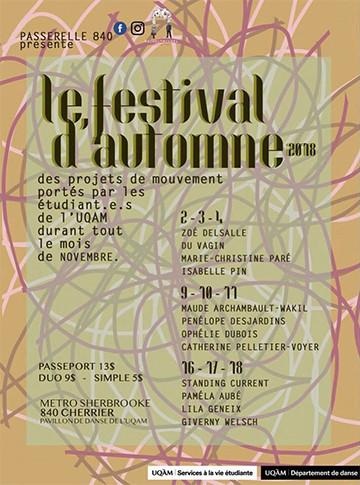 Festival Passerelle 840 - 20e saison