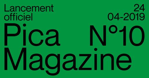 Lancement Pica Magazine 10