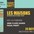 Les maisons - Fanny Britt