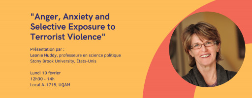 Anger, Anxiety and Selective Exposure to Terrorist Violence