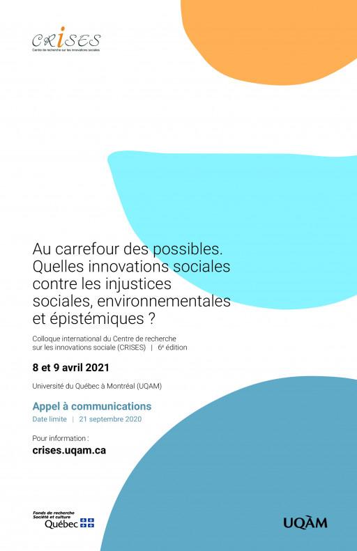 Au carrefour des possibles. Quelles innovations sociales contre les injustices sociales, environnementales et épistémiques ?