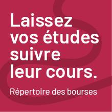 Atelier: «Bourses d'excellence de la Fondation - cycles supérieurs»