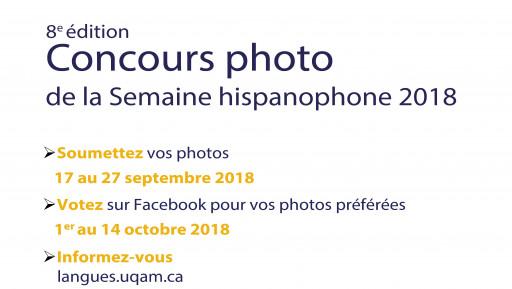 Concours photo de la Semaine hispanophone