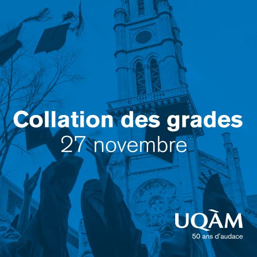 Collation des grades 2019 | Faculté des sciences de l'éducation