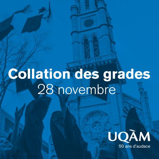 Collation des grades 2019 | École des sciences de la gestion