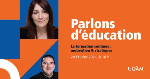 Parlons d'éducation: La formation professionnelle : motivation & stratégies