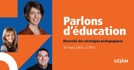 Parlons d'éducation : diversité des stratégies pédagogiques
