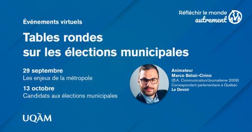Réfléchir le monde autrement: élections municipales 2021