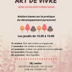 Série d'ateliers thématiques: Art de vivre
