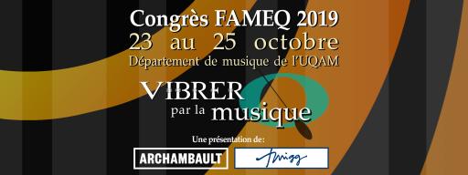 Congrès FAMEQ 2019