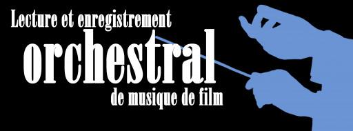 Lecture et enregistrement orchestral de musique de film