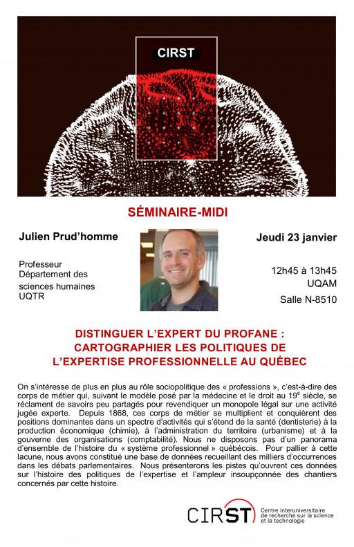 Distinguer l'expert du profane : cartographier les politiques de l'expertise professionnelle au Québec
