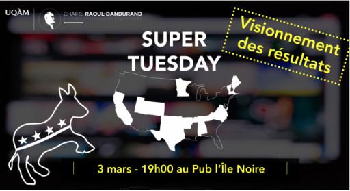 Super Tuesday : les résultats en direct