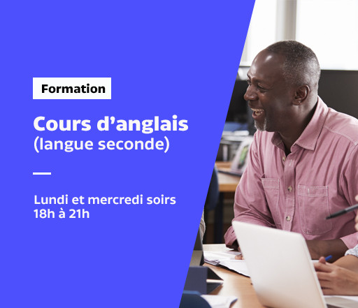 Cours d'anglais langue seconde à PROMIS