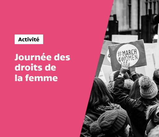 Journée des droits des femmes de Côte-des-Neiges et Lancement de la Marche mondiale des femmes