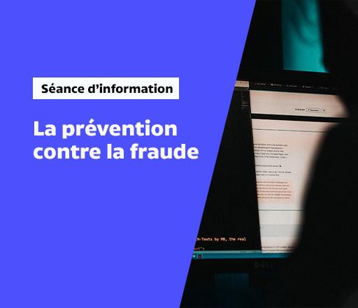 La prévention contre la fraude