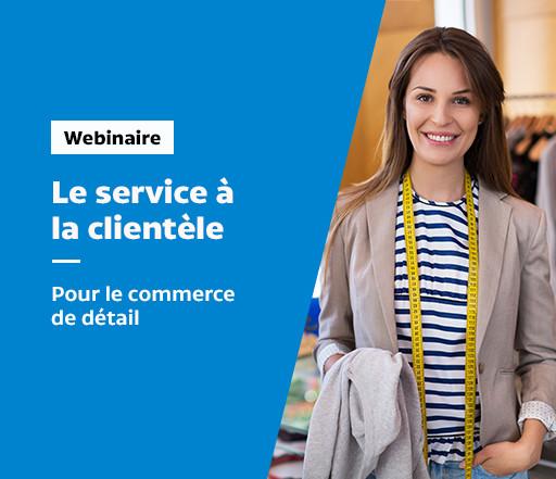 Service à la clientèle dans le commerce de détail