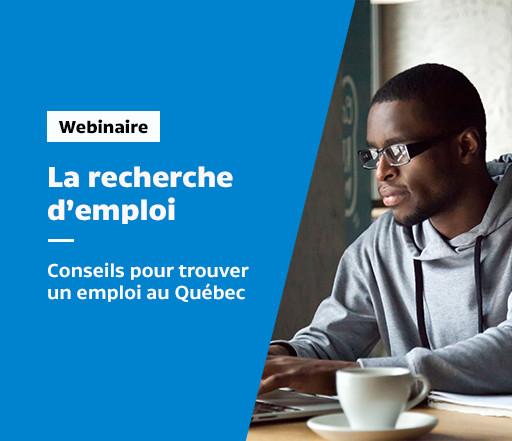 Atelier en ligne sur la recherche d'emploi