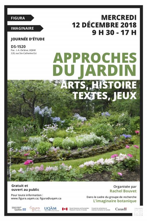 Journée d'étude: «Approches du jardin: arts, histoire, textes, jeux»