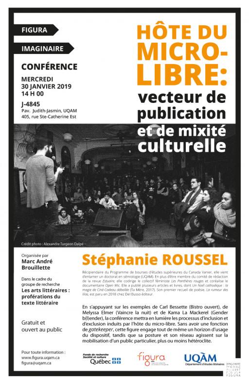 Hôte du micro-libre: vecteur de publication et de mixité culturelle