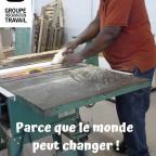 Programme Écolo-Boulot - Atelier d'ébénisterie
