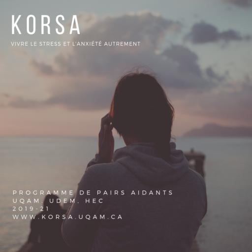 Programme de pairs aidants Korsa