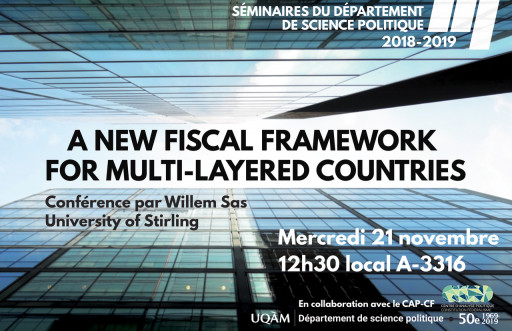 A New Fiscal Framework for Multi-Layered Countries