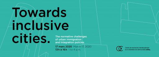 Vers des villes inclusives. Les enjeux normatifs des politiques urbaines d'immigration et d'intégration