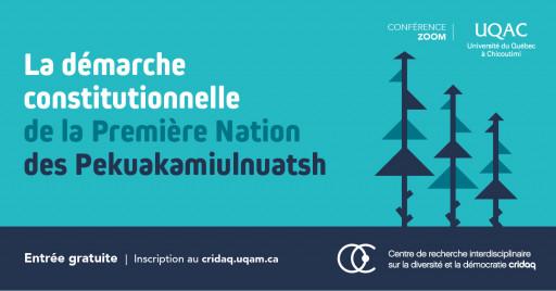 La démarche constitutionnelle de la Première Nation des Pekuakamiulnuatsh